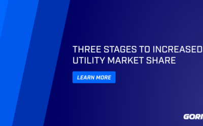 3 stages to increased utility market share